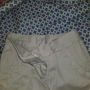 Loft Size 0 Tan Pants